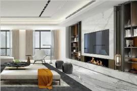 沈阳大业美家:电视背景墙别空着,美观又实用的3种设计方法